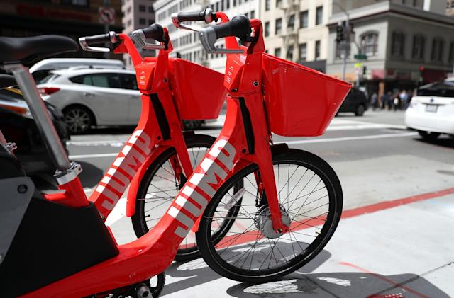 Uber's bike service is cutting into car rides