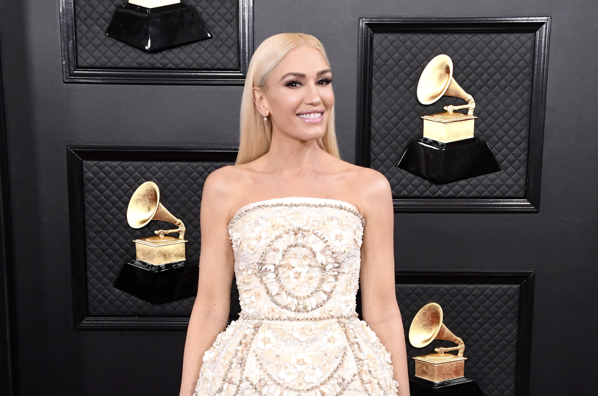 Gwen Stefani, 50, turns heads in shell-covered mini dress at Grammys 2020: 'That woman doesn't age'