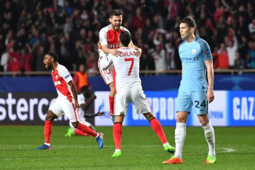 歐冠》曼城1-3遭摩納哥逆轉淘汰  8強出爐