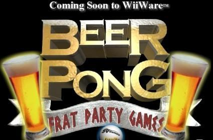 WiiWare Beer Pong brings college idiocy to the Wii [update]