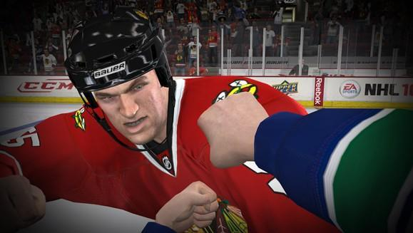 NHL 10 to feature first-person fighting, gameplay 'refinements'