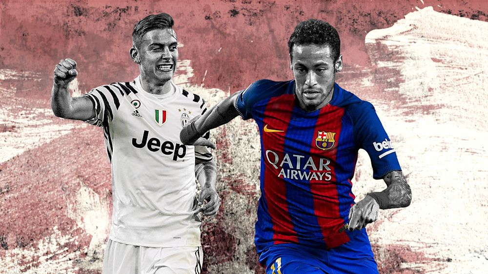 Juventus x Barcelona: números, pranchetas e mapas de calor completos