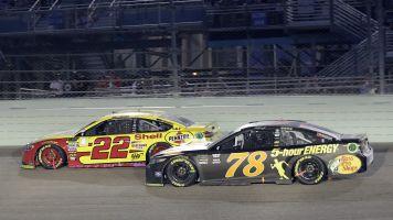 Joey Logano spoils Big Three party to win NASCAR title