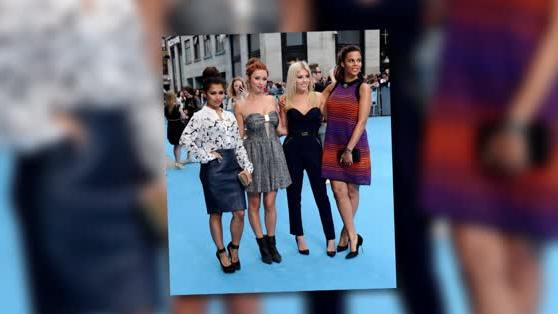 The Saturdays Wow at We're The Millers Premiere Without Pregnant Frankie Sandford