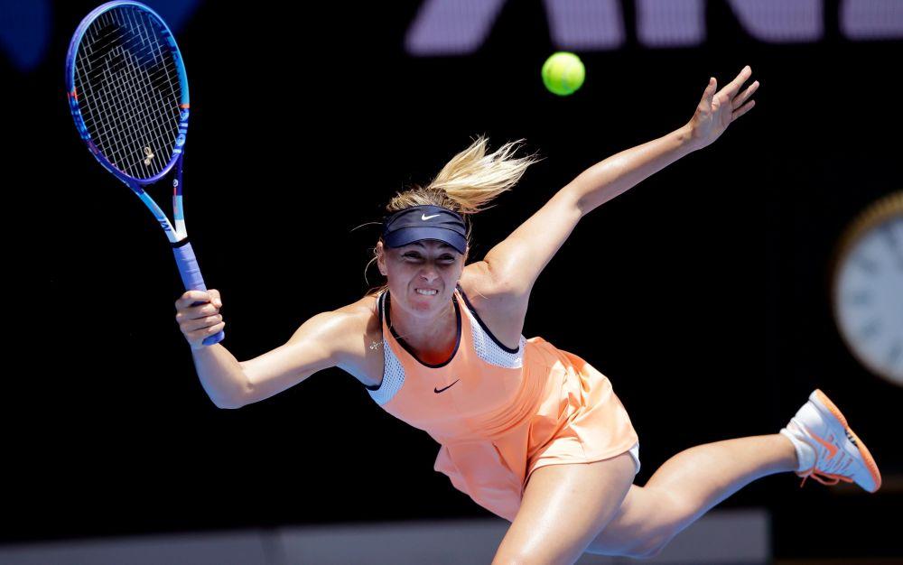 Maria Sharapova will return to tennis next week - AP