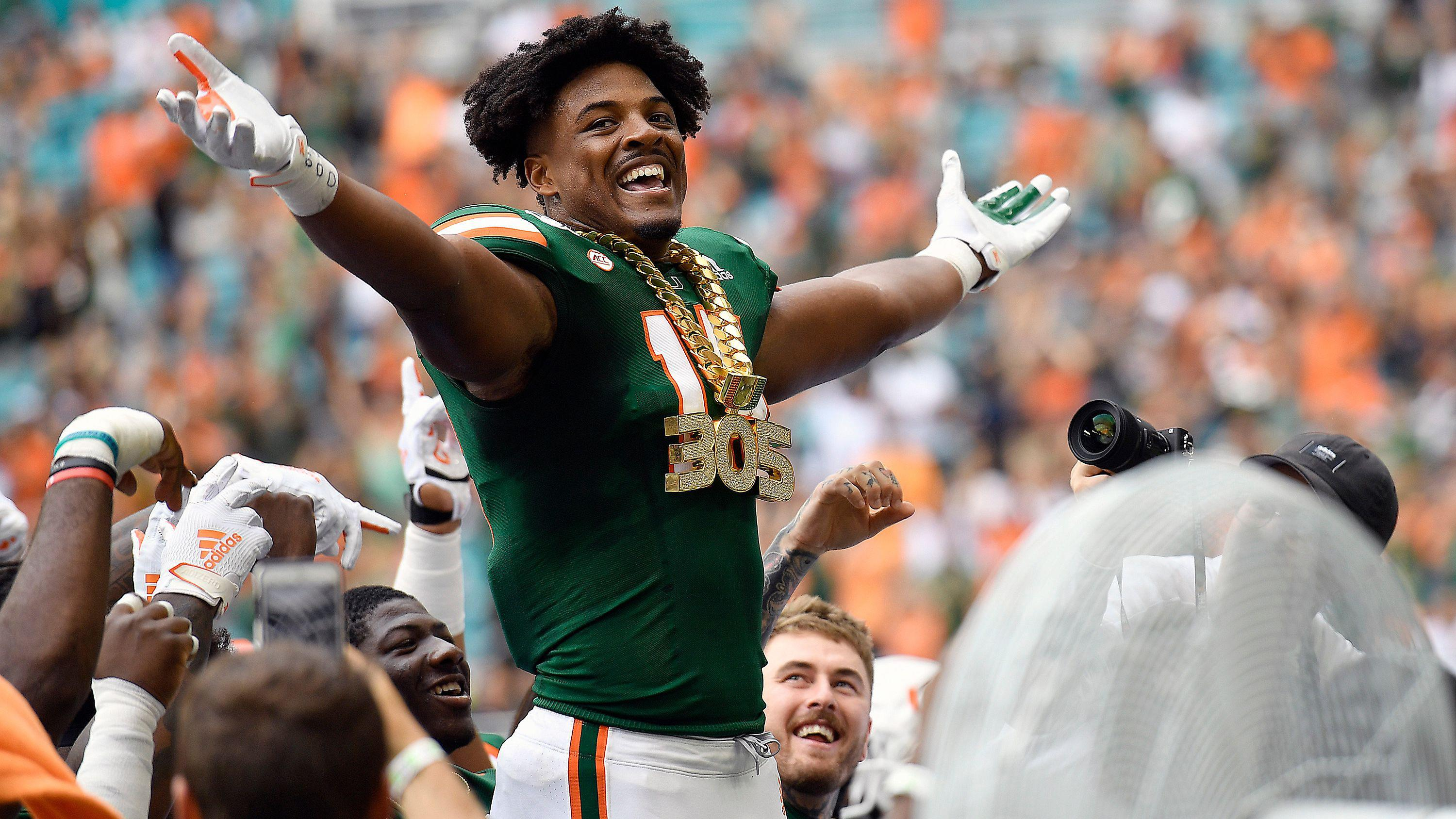 Miami star DE Gregory Rousseau opts out of season