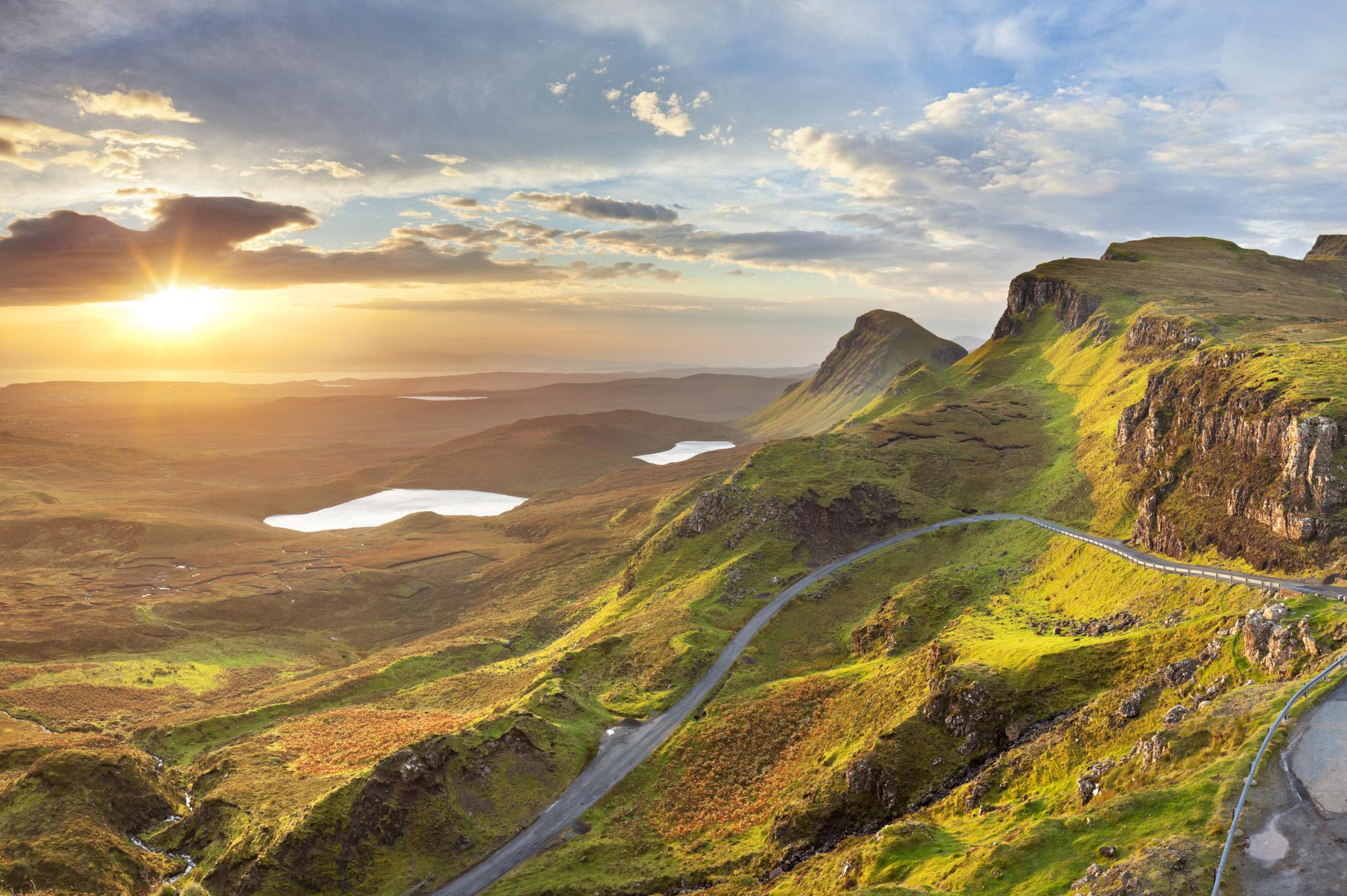 The Isle of Skye is a popular tourist destination thanks to its famous scenery and stunning landscapes. The island has a rich history which dates back as far as the Highland Clearances and Jacobite Rebellion.