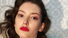A Red Lipstick That Inspires Double-Takes