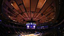 Raptors-Knicks undergoes brief rain delay at Madison Square Garden