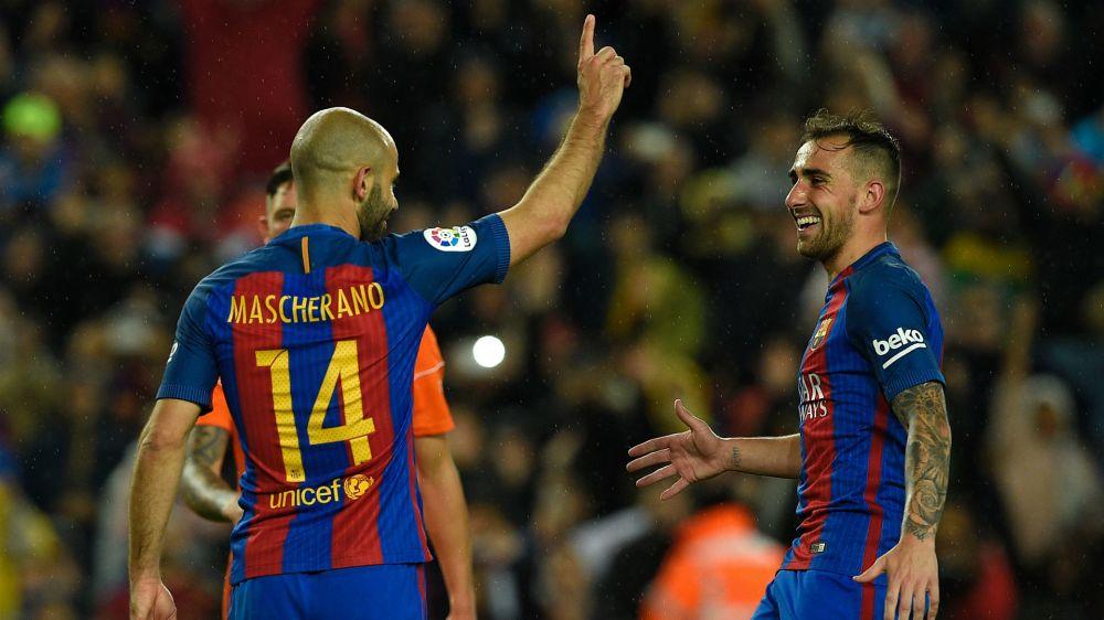 Serata storica per Mascherano: contro l'Osasuna il primo goal con il Barcellona