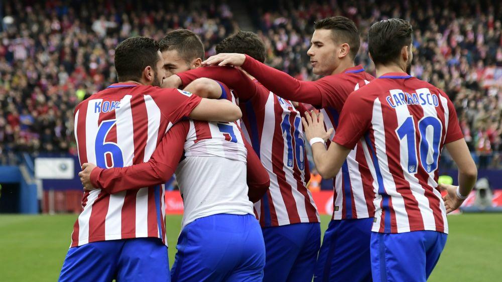El Atlético, contra el Leicester en los cuartos de final de Champions League
