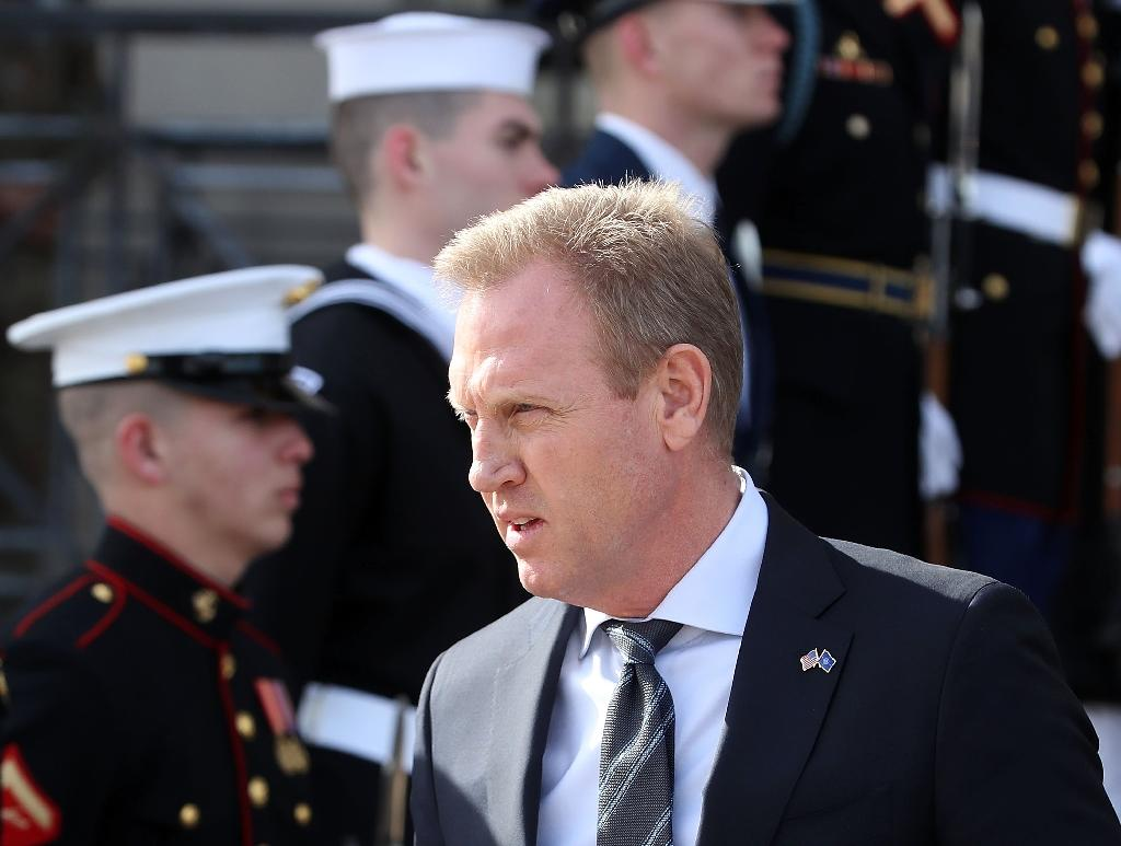 Patrick Shanahan took over as US acting defence secretary last month following the resignation of Jim Mattis (AFP Photo/MARK WILSON)