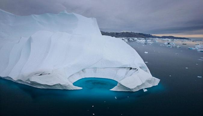 Arctic drone is tough enough to monitor icy waters
