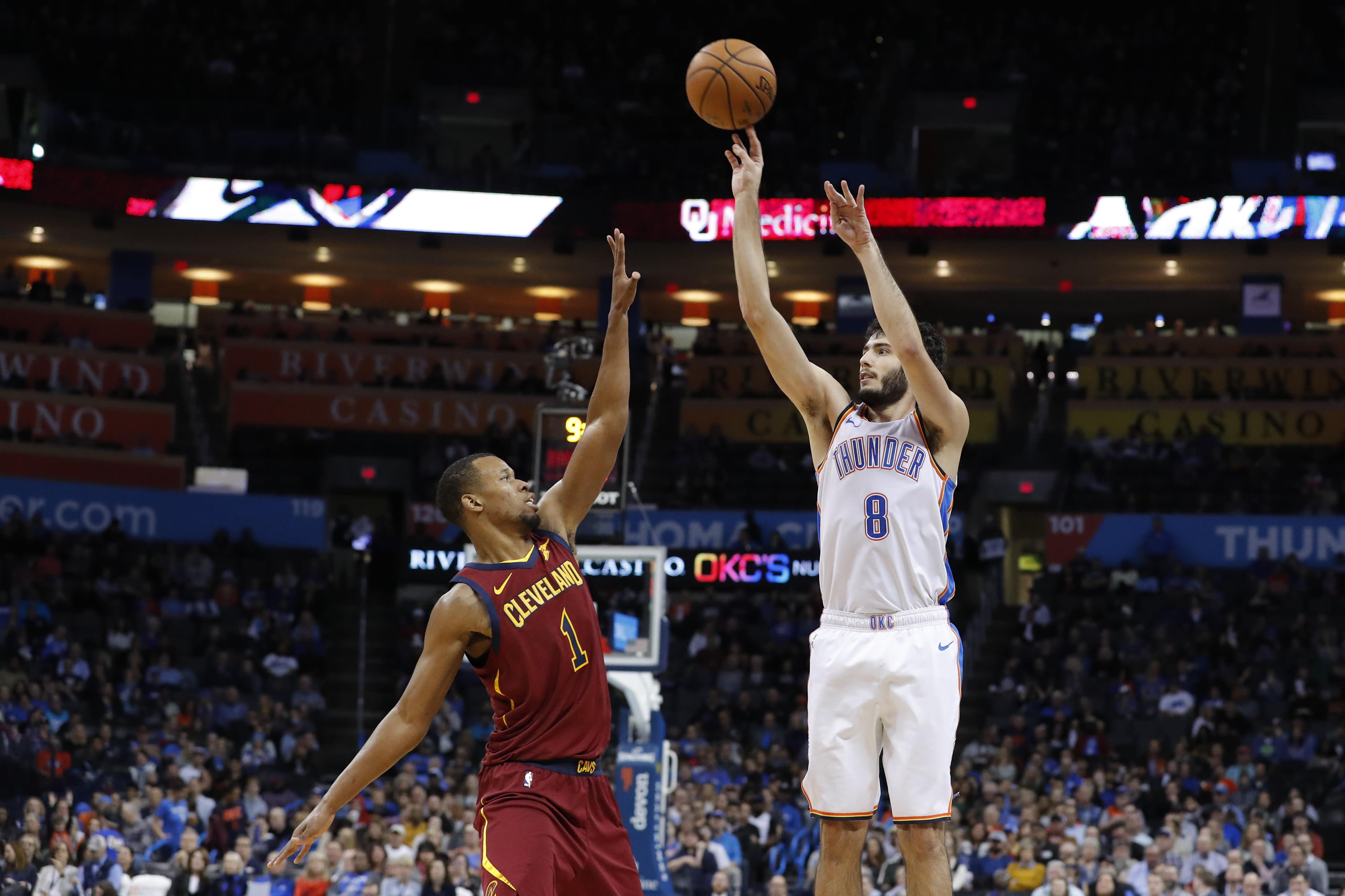 Former Thunder G Alex Abrines: 'I even got to hate' basketball
