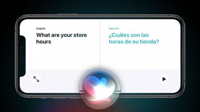 Apple Presenta Traducción En Tiempo Real Con Siri