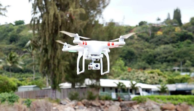 Flying the uncertain skies with the latest Phantom drone