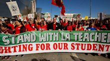 Los Angeles Teachers Begin Huge Strike