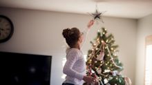 People are putting up their Christmas decorations early and experts say it could boost wellbeing