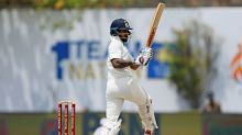 Dhawan half-century steers India to 115-1 at lunch