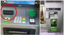 Can you spot the illegal camera hidden on this ATM?