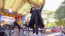 Jason Derulo rocks out Central Park to his hit song 'Want to Want Me'