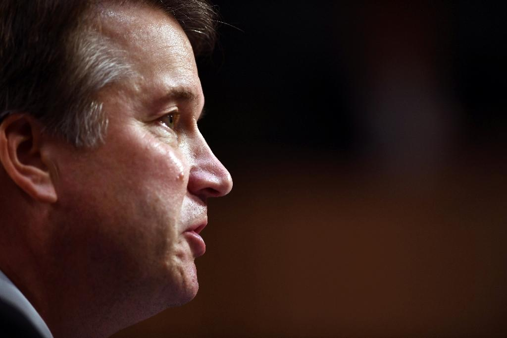 Brett Kavanaugh's defiance over the sex assault accusation promises a major fight in the Republican-led US Senate where his candidacy for the Supreme Court had appeared poised to sail through