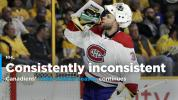 Inconsistency only consistent thing about Canadiens