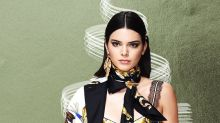 Kendall Jenner's Glittery Vintage Halloween Costume Is So Sparkly It May Blind You