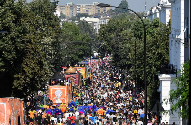 Notting Hill Carnival goes from street party to screen festival