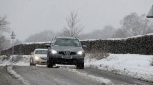 Snow causes chaos for commuters on 'Black Monday'