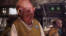 Admiral Ackbar was all set for 'Rogue One', but J.J. Abrams pinched him for 'The Force Awakens'