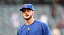 Kris Bryant takes BP from a disguised Greg Maddux in great prank