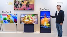 Samsung unveils vertical TV aimed at millennials