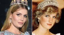 Princess Diana's model niece Kitty Spencer looks gorgeous at the royal wedding