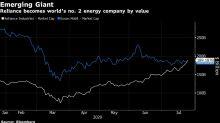 Reliance Overtakes Exxon to Become World's No. 2 Energy Company
