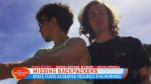 Fears for missing backpackers off NSW beach