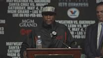 PRESS CONFERENCE LIVE: MAYWEATHER vs. GUERRERO