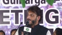 At anti-CAA rally in Karnataka's Kalaburagi, AIMIM leader Waris Pathan says 15 crore people 'can dominate 100 crore'