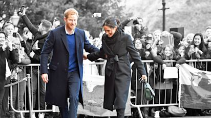 In pictures: Prince Harry and Meghan Markle's most adorable public moments