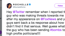 Former press secretary Rochelle Ritchie calls out Twitter for not blocking mail bombing suspect Cesar Sayoc, who she says threatened her
