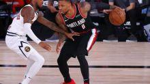 Basket - NBA - NBA: festival pour Damian Lillard et victoire pour Portland face à Denver