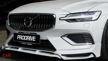 美型「道路凶器」!Volvo V60 MK2專用ERST外觀小包改
