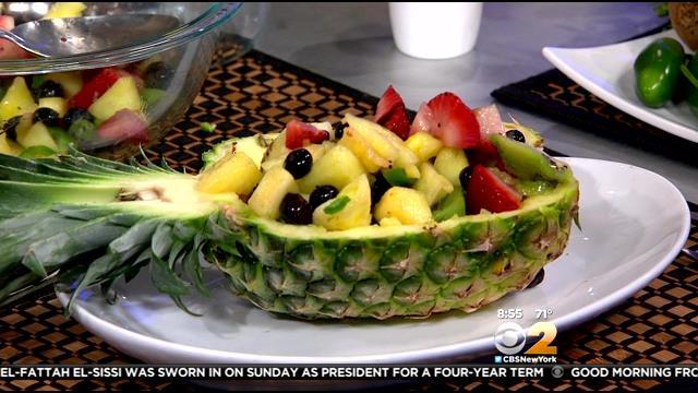 Stephanie & Tony's Table: Pan-Grilled Pineapple