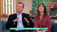 David Cameron says he 's**t' himself in hilarious 'This Morning' blunder