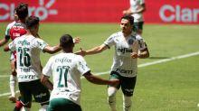 El Palmeiras busca ampliar su ventaja como líder con visita del Fluminense