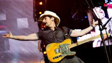 'How you do music in 2020': Brad Paisley puts on a socially distant drive-in concert in Nashville