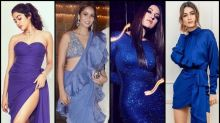 Janhvi Kapoor, Mira Rajput, Sonakshi Sinha, Kriti Sanon Give Tips On How To Rock Colours Of The Season- Purple And Blue!
