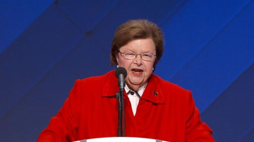 Barbara Mikulski Champions Hillary Clinton 'Because We Know She'll Carry the Torch for All of Us'
