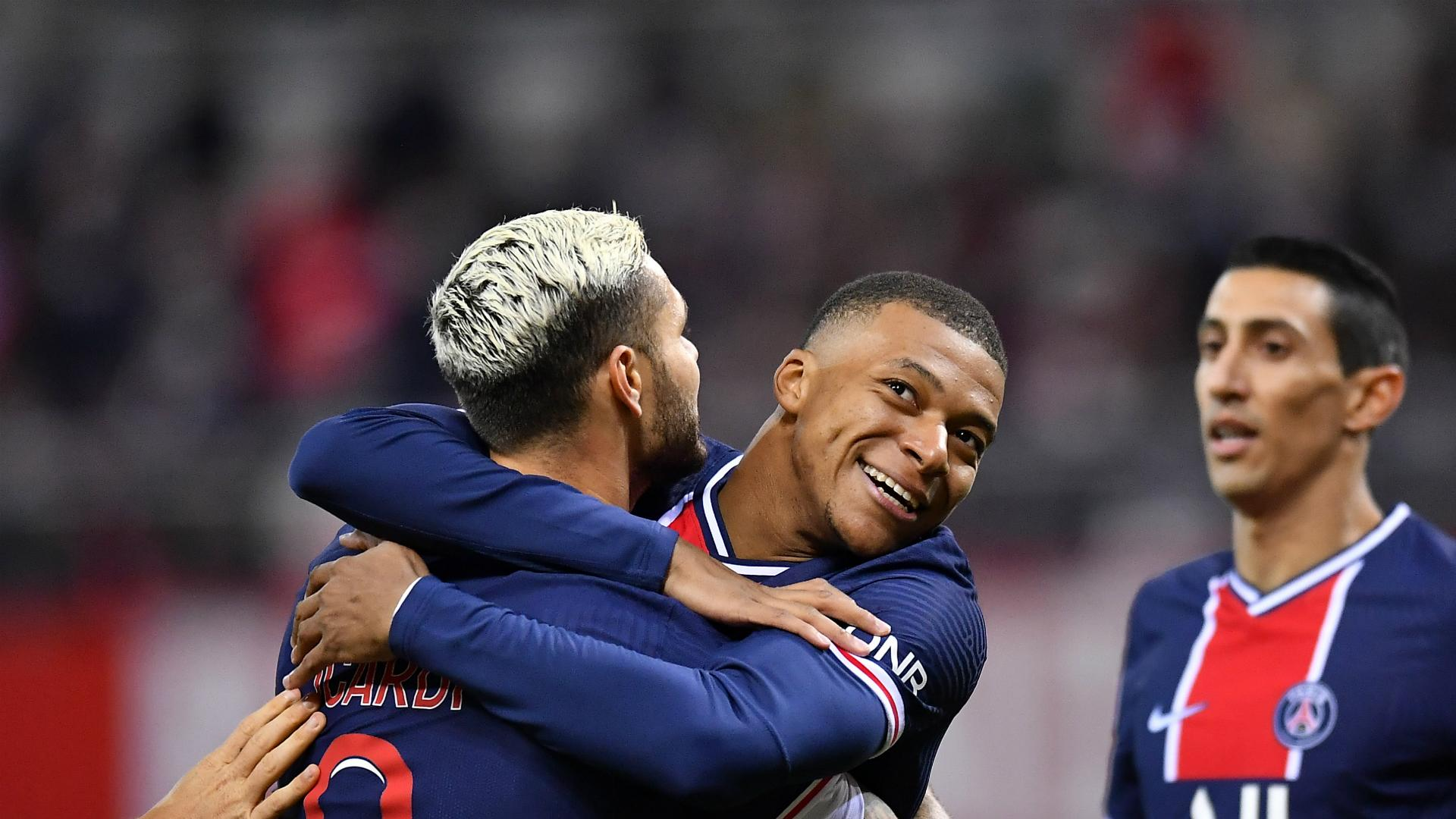 Reims 0 2 Paris Saint Germain Icardi Nets Twice In Routine Victory