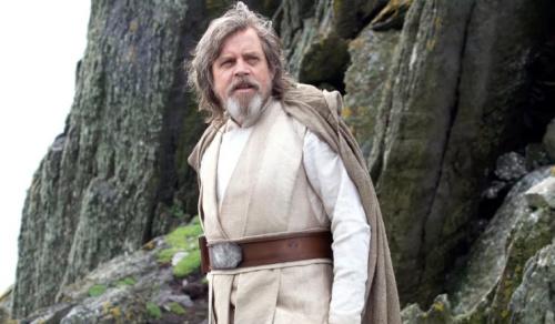 Mark Hamill as Luke Skywalker in Star Wars 7 - Credit: Lucasfilm
